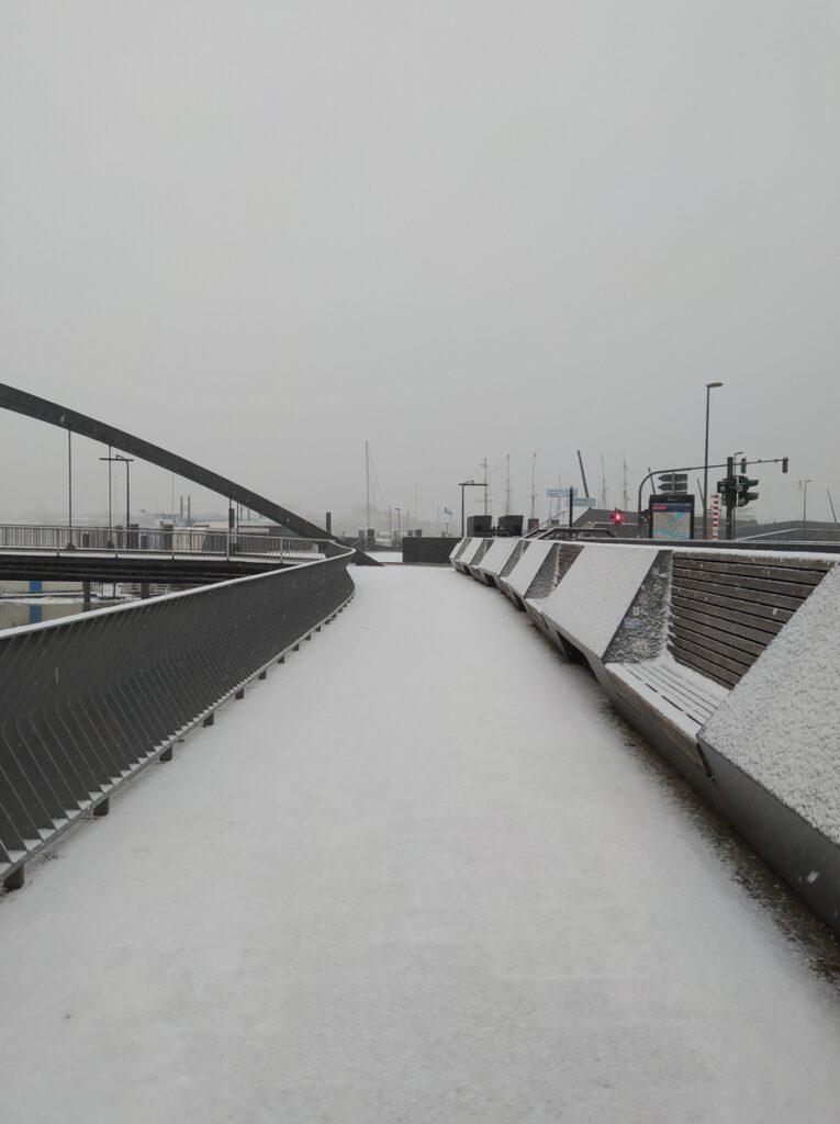 Winter in Hamburg 2021