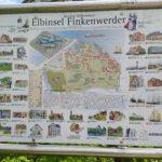 Karte Finkenwerder