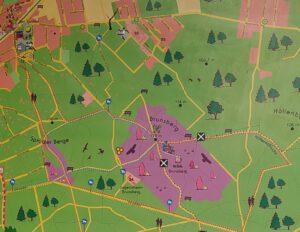 Karte Sprötze Brunsberg
